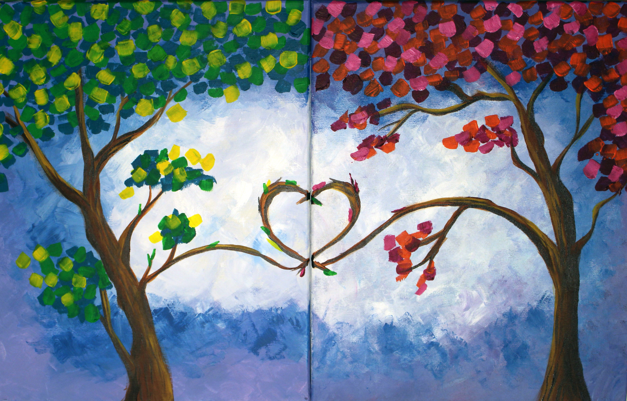 Painting Creations: Couples Paint Night Fundraiser ...